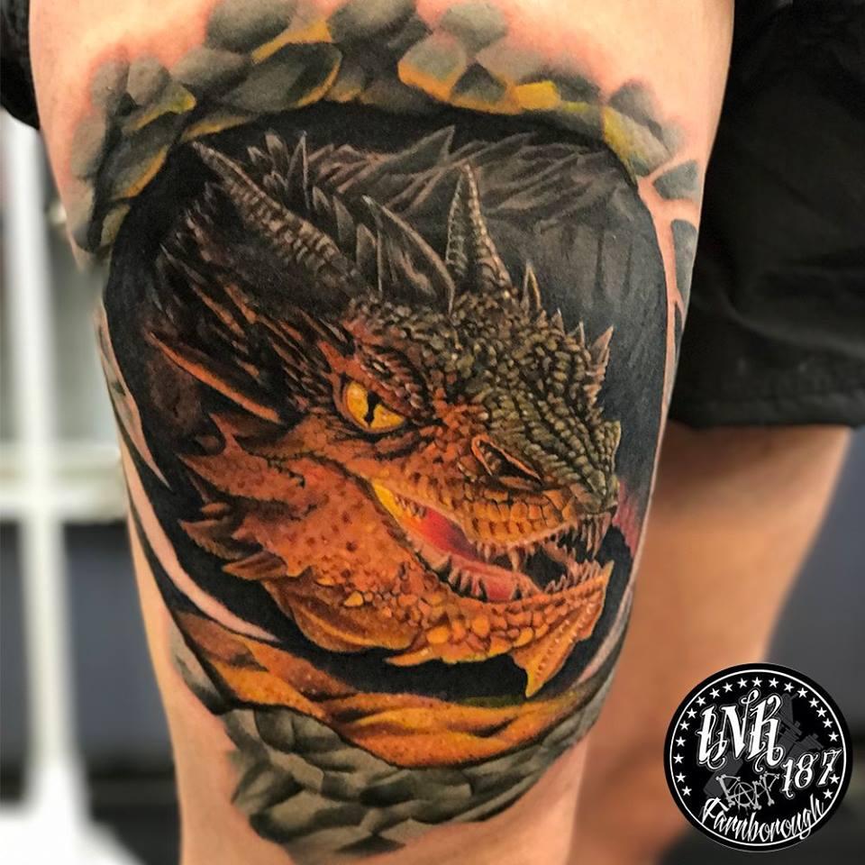 Dragon Tattoo Tattoo And Piercing Studio In Farnborough